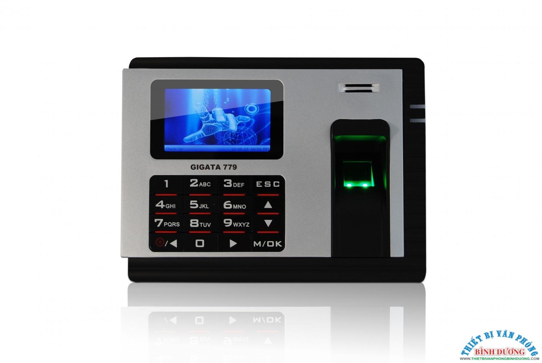 Máy chấm công Vân Tay+thẻ thế hệ mới  GIGATA 779